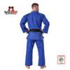 kimono judo danrho aprobat ijf albastru