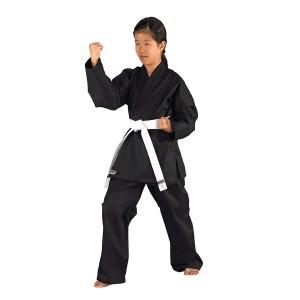 kimono karate negru Shado