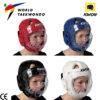 casca protectie taekwondo cu masca WT Kwon