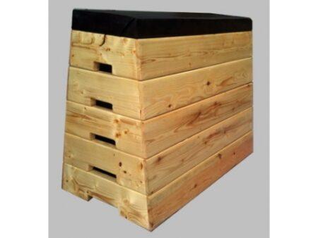 lada gimnastica trapezoidala lemn masiv