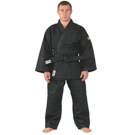 Kimono aikido Kwon J650 negru