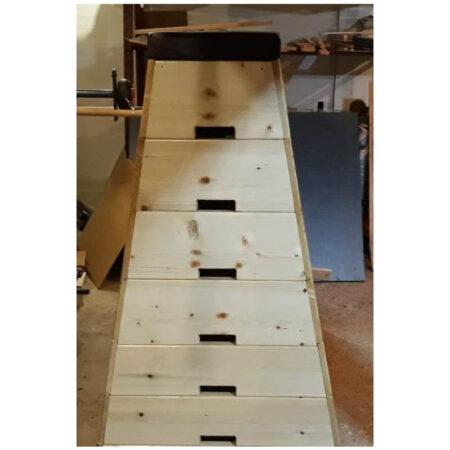 lada gimnastica lemn masiv